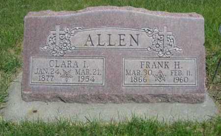 ALLEN, FRANK H. - Dawes County, Nebraska | FRANK H. ALLEN - Nebraska Gravestone Photos