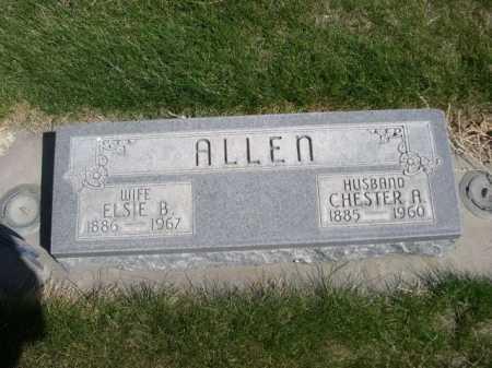 ALLEN, CHESTER A. - Dawes County, Nebraska | CHESTER A. ALLEN - Nebraska Gravestone Photos