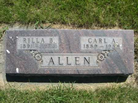 ALLEN, CARL A. - Dawes County, Nebraska | CARL A. ALLEN - Nebraska Gravestone Photos
