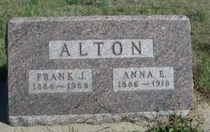 ALTON, FRANK J. - Dawes County, Nebraska | FRANK J. ALTON - Nebraska Gravestone Photos