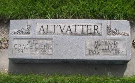 ALTVATTER, WILLIAM - Dawes County, Nebraska | WILLIAM ALTVATTER - Nebraska Gravestone Photos