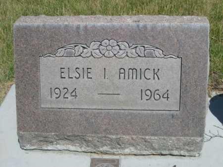 AMICK, ELSIE I. - Dawes County, Nebraska   ELSIE I. AMICK - Nebraska Gravestone Photos