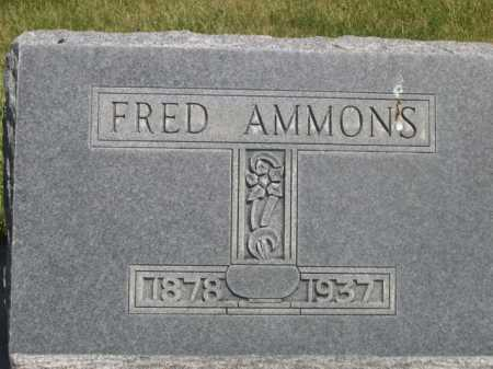 AMMONS, FRED - Dawes County, Nebraska | FRED AMMONS - Nebraska Gravestone Photos