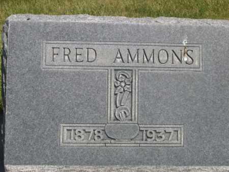 AMMONS, FRED - Dawes County, Nebraska | FRED AMMONS - Nebraska Gravestone Photos