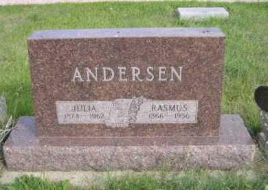 ANDERSEN, JULIA - Dawes County, Nebraska | JULIA ANDERSEN - Nebraska Gravestone Photos