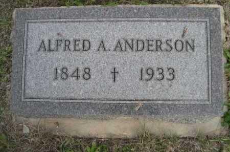 ANDERSON, ALFRED A. - Dawes County, Nebraska | ALFRED A. ANDERSON - Nebraska Gravestone Photos