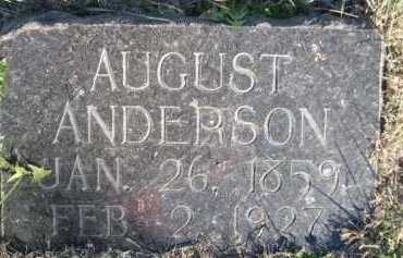 ANDERSON, AUGUST - Dawes County, Nebraska | AUGUST ANDERSON - Nebraska Gravestone Photos