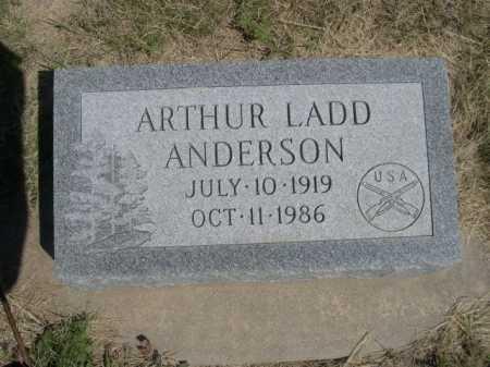 ANDERSON, ARTHUR LADD - Dawes County, Nebraska | ARTHUR LADD ANDERSON - Nebraska Gravestone Photos