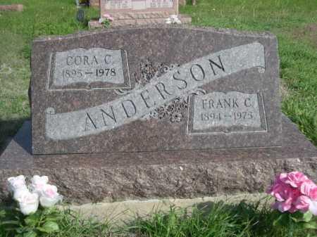 ANDERSON, FRANK C. - Dawes County, Nebraska | FRANK C. ANDERSON - Nebraska Gravestone Photos