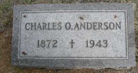 ANDERSON, CHARLES O. - Dawes County, Nebraska   CHARLES O. ANDERSON - Nebraska Gravestone Photos