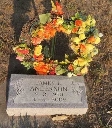 ANDERSON, JAMES L. - Dawes County, Nebraska | JAMES L. ANDERSON - Nebraska Gravestone Photos
