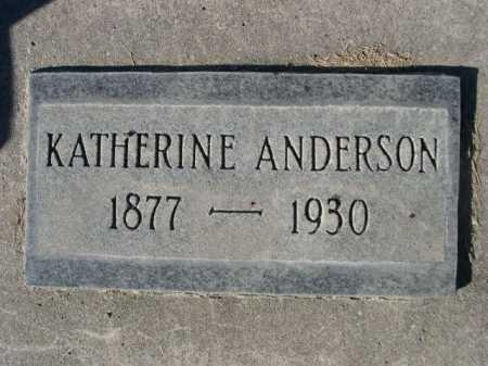 ANDERSON, KATHERINE - Dawes County, Nebraska   KATHERINE ANDERSON - Nebraska Gravestone Photos