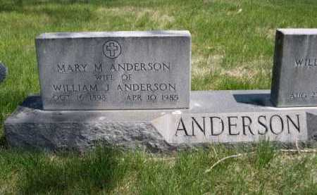 ANDERSON, MARY M. - Dawes County, Nebraska | MARY M. ANDERSON - Nebraska Gravestone Photos
