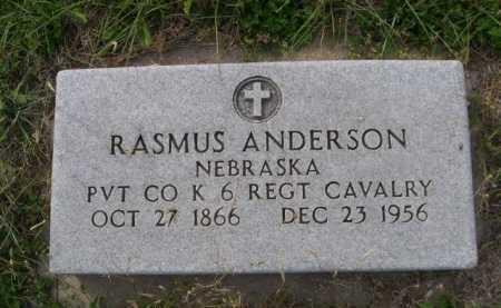 ANDERSON, RASMUS - Dawes County, Nebraska | RASMUS ANDERSON - Nebraska Gravestone Photos