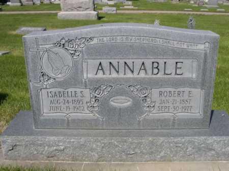 ANNABLE, ISABELLE S. - Dawes County, Nebraska | ISABELLE S. ANNABLE - Nebraska Gravestone Photos