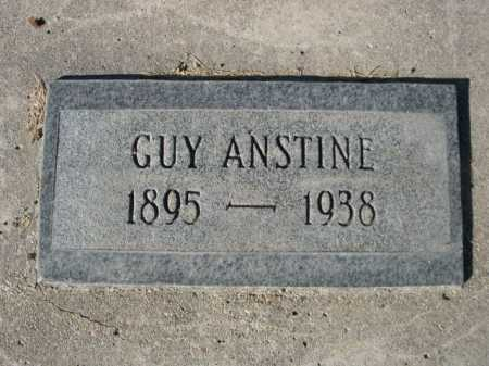 ANSTINE, GUY - Dawes County, Nebraska | GUY ANSTINE - Nebraska Gravestone Photos
