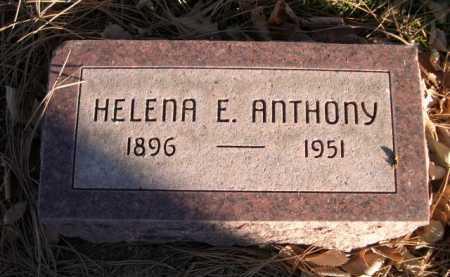 ANTHONY, HELENA E. - Dawes County, Nebraska | HELENA E. ANTHONY - Nebraska Gravestone Photos
