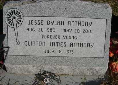 ANTHONY, JESSE DYLAN - Dawes County, Nebraska | JESSE DYLAN ANTHONY - Nebraska Gravestone Photos