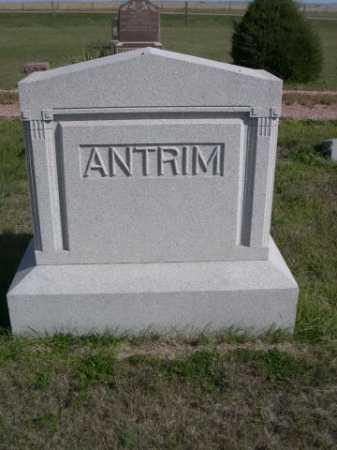 ANTRIM, FAMILY - Dawes County, Nebraska | FAMILY ANTRIM - Nebraska Gravestone Photos