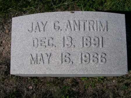 ANTRIM, JAY G. - Dawes County, Nebraska | JAY G. ANTRIM - Nebraska Gravestone Photos