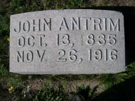 ANTRIM, JOHN - Dawes County, Nebraska | JOHN ANTRIM - Nebraska Gravestone Photos