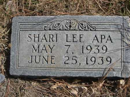 APA, SHARI LEE - Dawes County, Nebraska   SHARI LEE APA - Nebraska Gravestone Photos