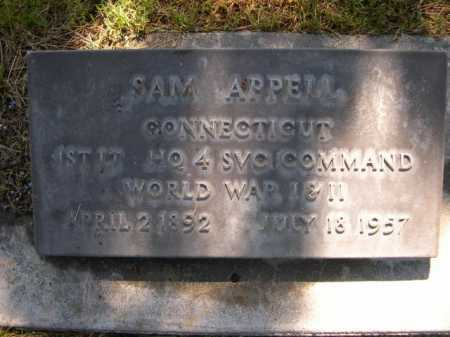 APPELL, SAM - Dawes County, Nebraska | SAM APPELL - Nebraska Gravestone Photos
