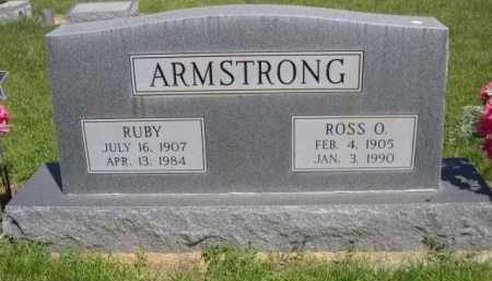 ARMSTRONG, ROSS O. - Dawes County, Nebraska | ROSS O. ARMSTRONG - Nebraska Gravestone Photos