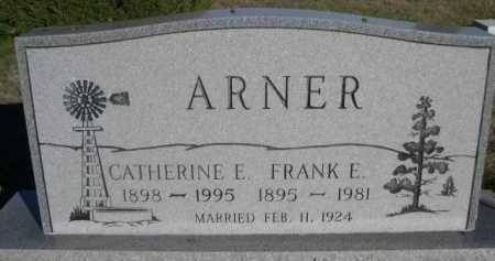 ARNER, CATHERINE E. - Dawes County, Nebraska | CATHERINE E. ARNER - Nebraska Gravestone Photos