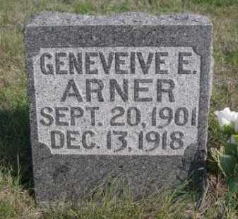 ARNER, GENEVEIVE E. - Dawes County, Nebraska   GENEVEIVE E. ARNER - Nebraska Gravestone Photos
