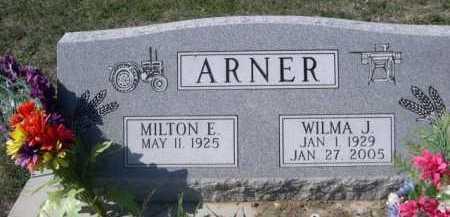 ARNER, WILMA J. - Dawes County, Nebraska | WILMA J. ARNER - Nebraska Gravestone Photos