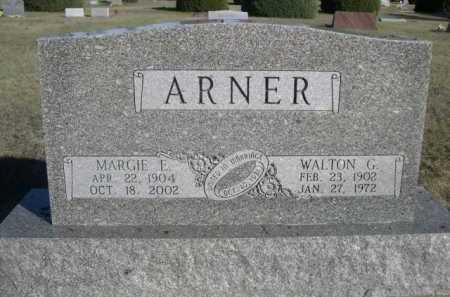 ARNER, WALTON G. - Dawes County, Nebraska | WALTON G. ARNER - Nebraska Gravestone Photos
