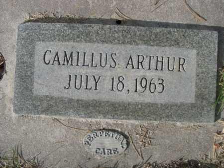 ARTHUR, CAMILLUS - Dawes County, Nebraska | CAMILLUS ARTHUR - Nebraska Gravestone Photos