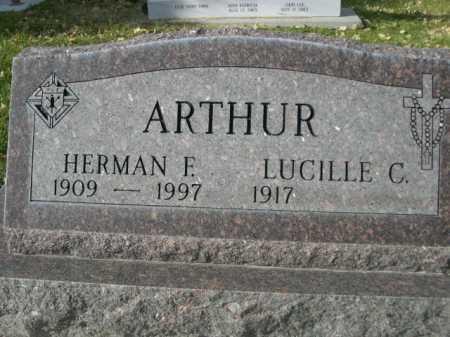 ARTHUR, LUCILLE C. - Dawes County, Nebraska | LUCILLE C. ARTHUR - Nebraska Gravestone Photos