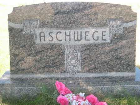 ASCHWEGE, FAMILY - Dawes County, Nebraska | FAMILY ASCHWEGE - Nebraska Gravestone Photos