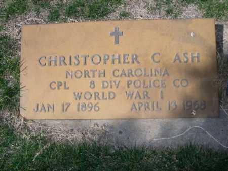 ASH, CHRISTOPHER - Dawes County, Nebraska   CHRISTOPHER ASH - Nebraska Gravestone Photos