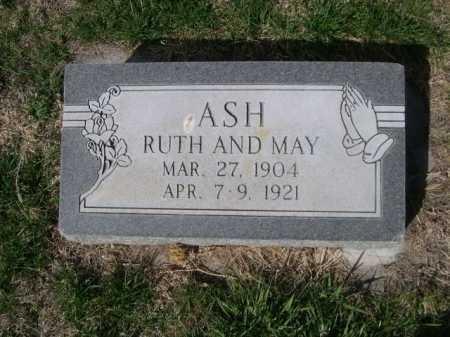 ASH, MAY - Dawes County, Nebraska | MAY ASH - Nebraska Gravestone Photos
