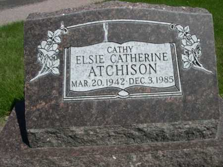 """ATCHISON, ELSIE CATHERINE """"CATHY"""" - Dawes County, Nebraska 