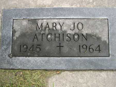 ATCHISON, MARY JO - Dawes County, Nebraska | MARY JO ATCHISON - Nebraska Gravestone Photos