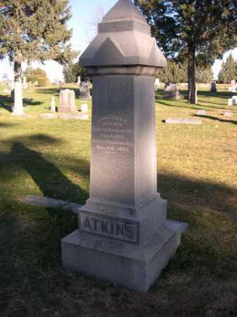 ATKINS, FAMILY - Dawes County, Nebraska   FAMILY ATKINS - Nebraska Gravestone Photos