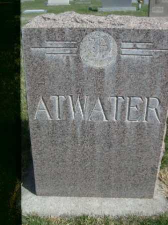 ATWATER, FAMILY - Dawes County, Nebraska   FAMILY ATWATER - Nebraska Gravestone Photos