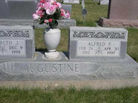 AUGUSTINE, ALFRED P. - Dawes County, Nebraska | ALFRED P. AUGUSTINE - Nebraska Gravestone Photos
