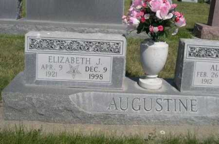 AUGUSTINE, ELIZABETH J. - Dawes County, Nebraska   ELIZABETH J. AUGUSTINE - Nebraska Gravestone Photos