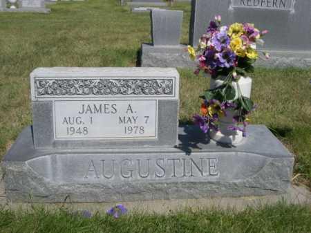 AUGUSTINE, JAMES A. - Dawes County, Nebraska | JAMES A. AUGUSTINE - Nebraska Gravestone Photos