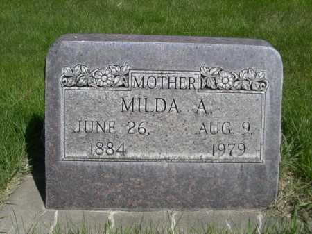 AUGUSTINE, MILDA A. - Dawes County, Nebraska | MILDA A. AUGUSTINE - Nebraska Gravestone Photos