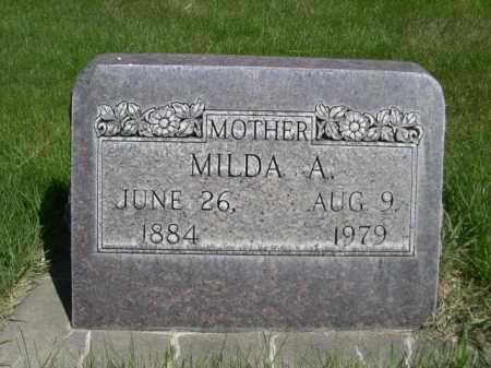 AUGUSTINE, MILDA A. - Dawes County, Nebraska   MILDA A. AUGUSTINE - Nebraska Gravestone Photos