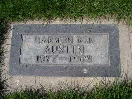 AUSTIN, HARMON BEN - Dawes County, Nebraska | HARMON BEN AUSTIN - Nebraska Gravestone Photos