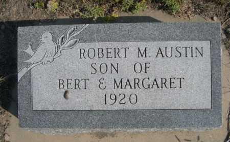AUSTIN, ROBERT M. - Dawes County, Nebraska   ROBERT M. AUSTIN - Nebraska Gravestone Photos