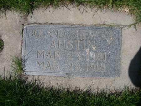 AUSTIN, ROLAND SHEWOOD - Dawes County, Nebraska | ROLAND SHEWOOD AUSTIN - Nebraska Gravestone Photos