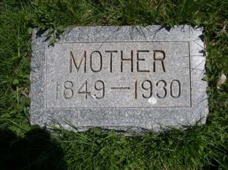 AUSTIN, MOTHER - Dawes County, Nebraska | MOTHER AUSTIN - Nebraska Gravestone Photos